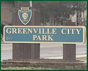 Greenville City Park Sign